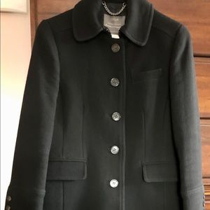 🖤J.CREW WELL LOVED PETITE LADY DAY COAT